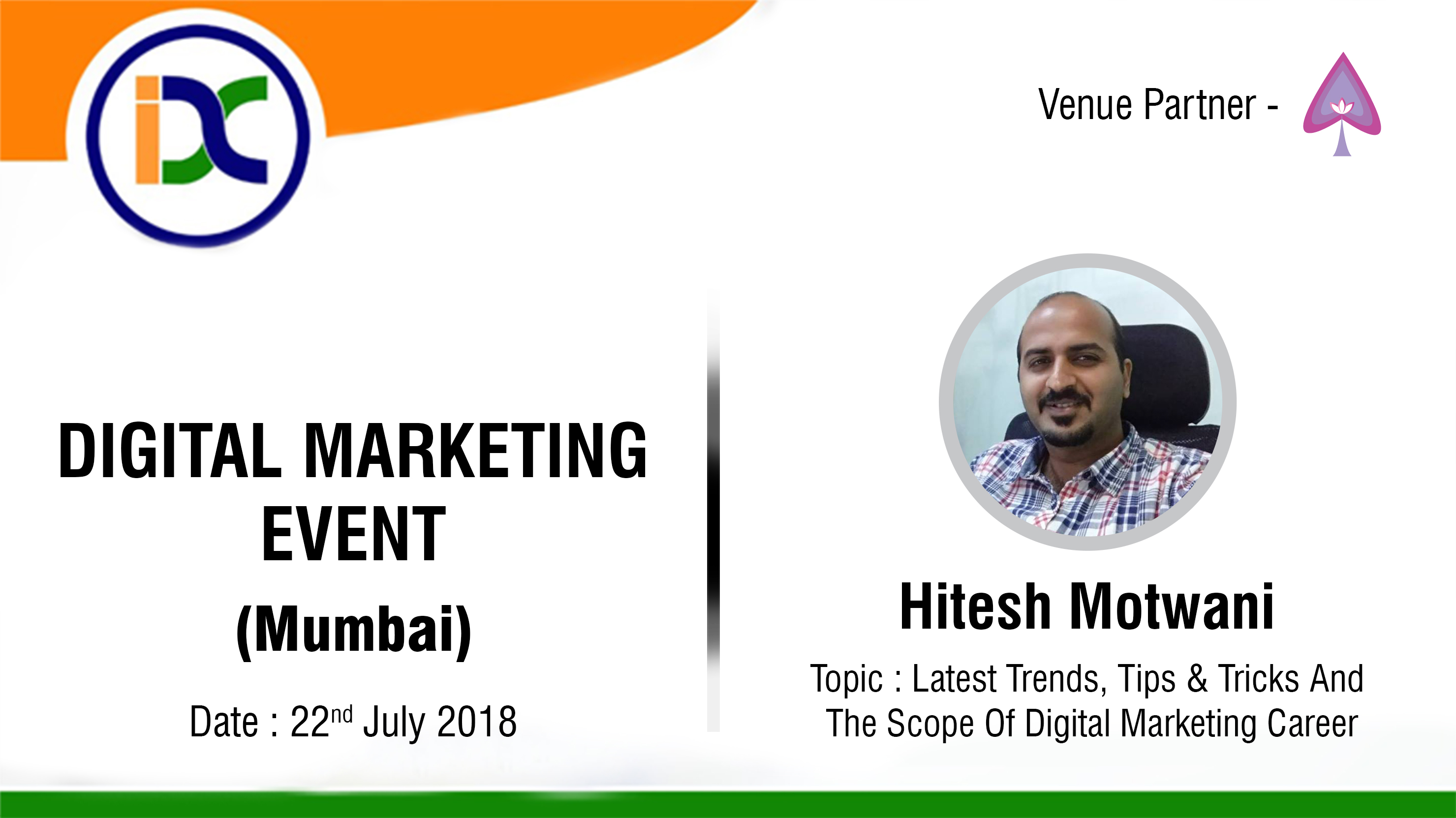 Digital marketing event Hitesh_Motwani