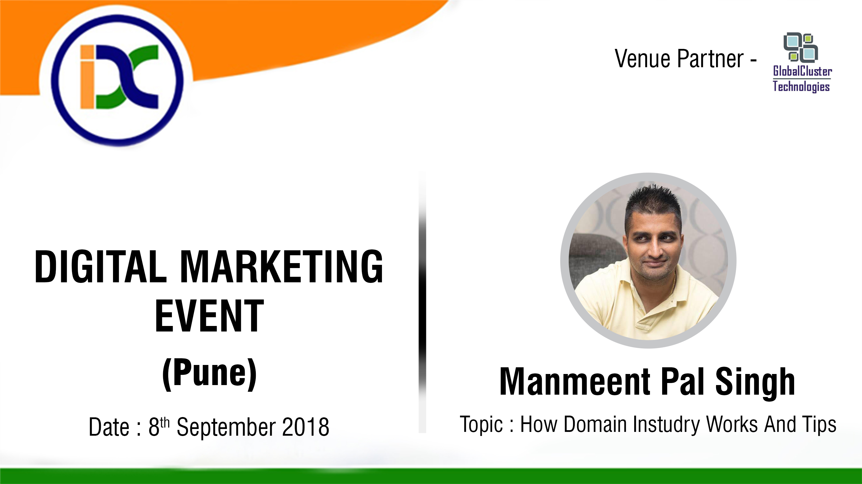 Digital Marketing Event with Manmeet singh
