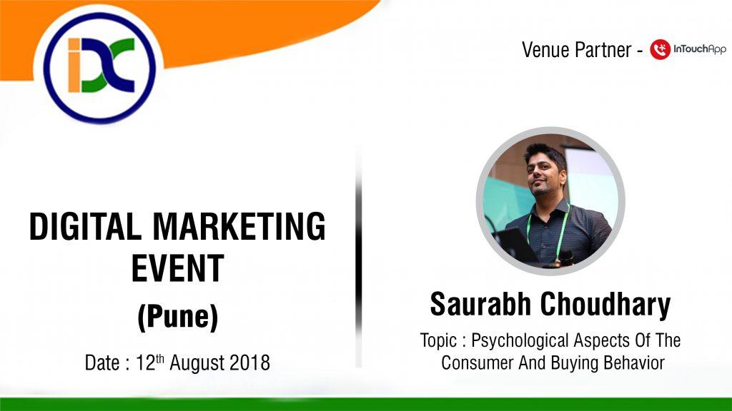 digital marketing event saurabh chaudhary