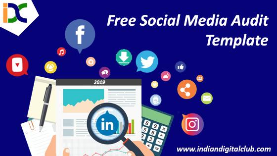 Free Social Media Audit Template 2019