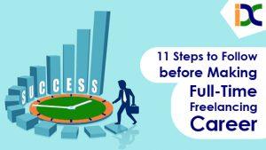 full-time freelancing career