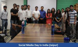 Social Media day in Jaipur 2019